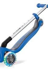 Globber Globber Primo Foldable Scooter with Lights- Blue