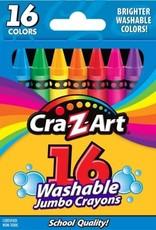 Cra-Z-Art Cra-Z-Art 16ct Washable Jumbo Crayons