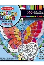 Melissa & Doug Stained Glass - Butterfly