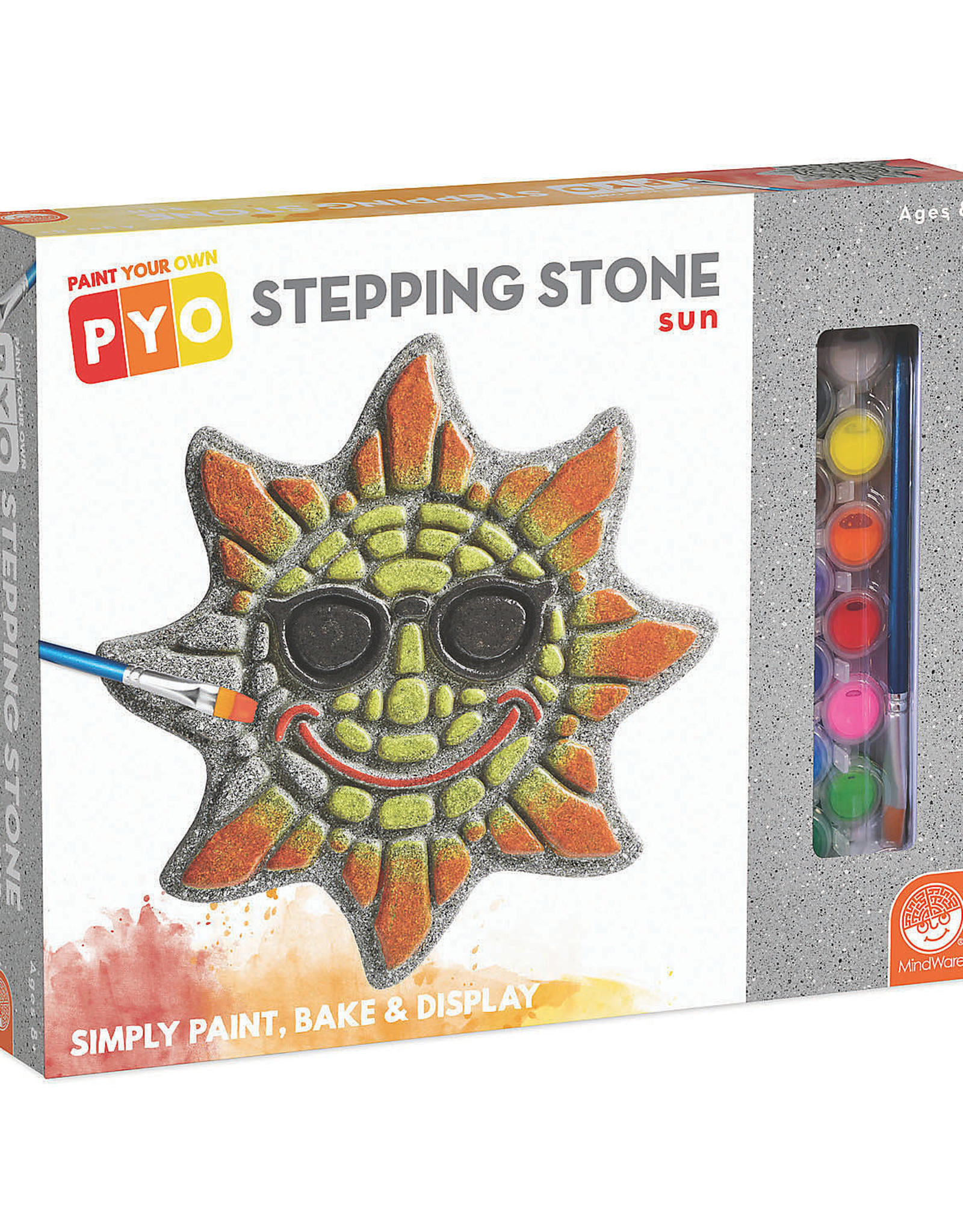 MindWare Paint Your Own Stepping Stone - Sun