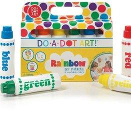 Do a Dot Art - Rainbow Dot Markers
