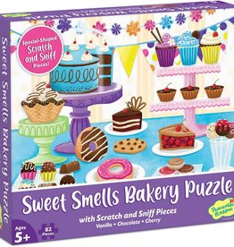 Peaceable Kingdom Scratch & Sniff Puzzle: Sweet Smells Bakery