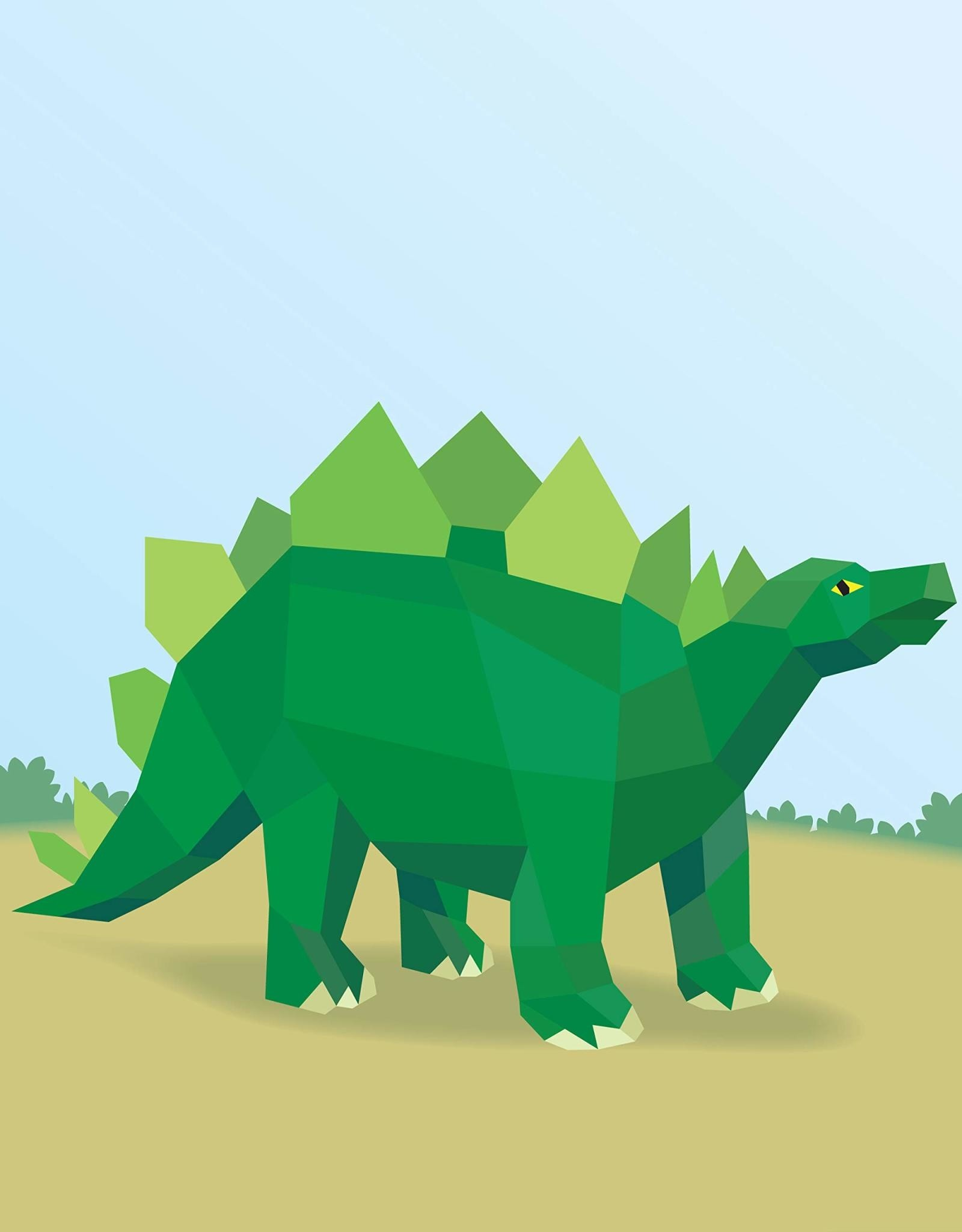 Paint By Sticker - Dinosaurs