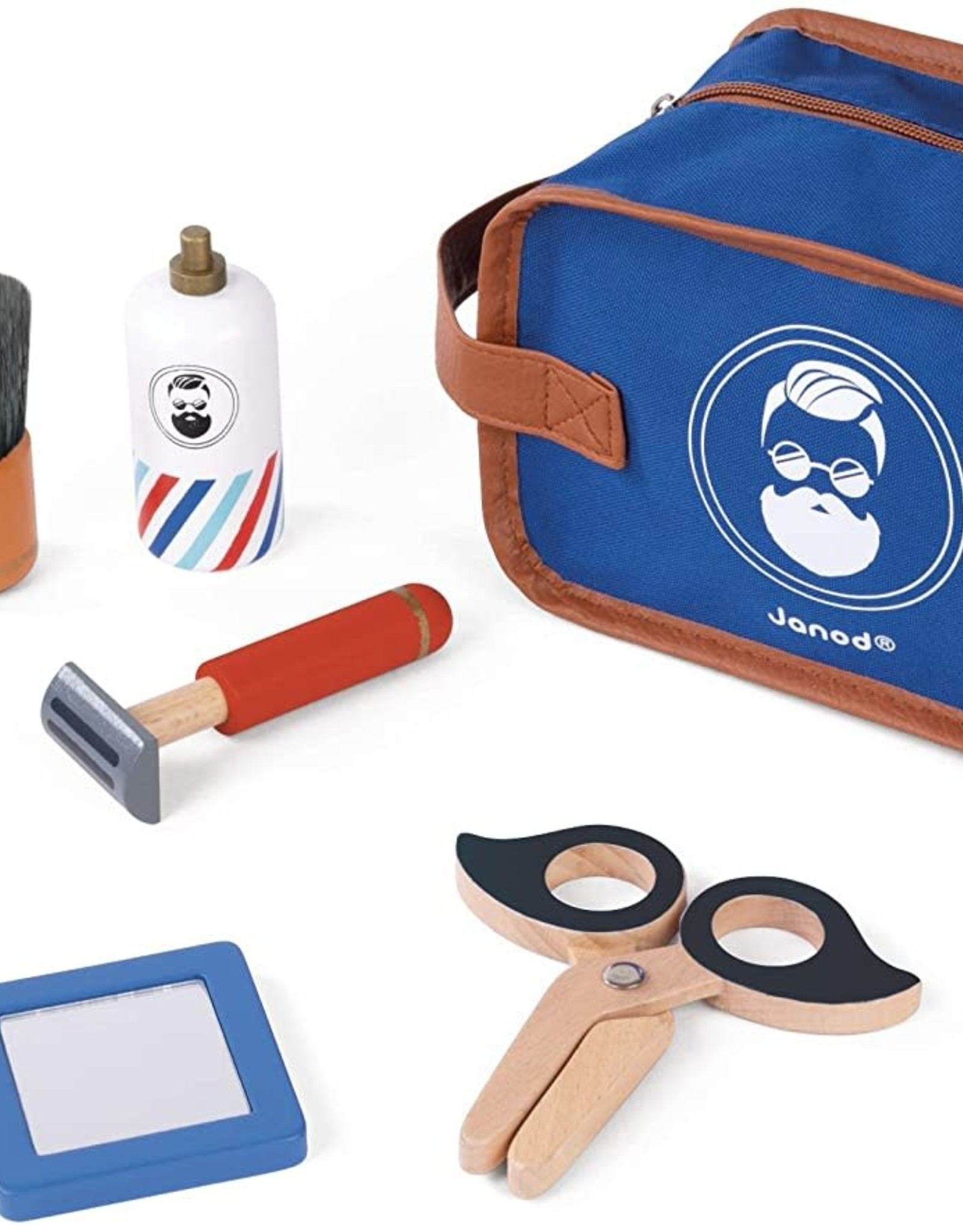 Janod Janod Shaving Kit - My First Pretend Play Grooming Kit