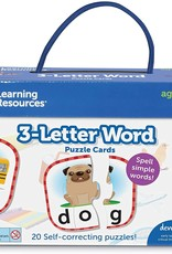 Learning Resources 3-Letter Words Puzzle Cards