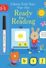 Usborne Wipe Clean Ready for Reading