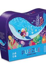 Crocodile Creek 12 pc Puzzle Whale Wonder