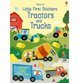 Usborne Little First Stickers - Tractors & Trucks