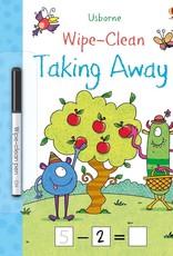 Usborne Wipe Clean Taking Away