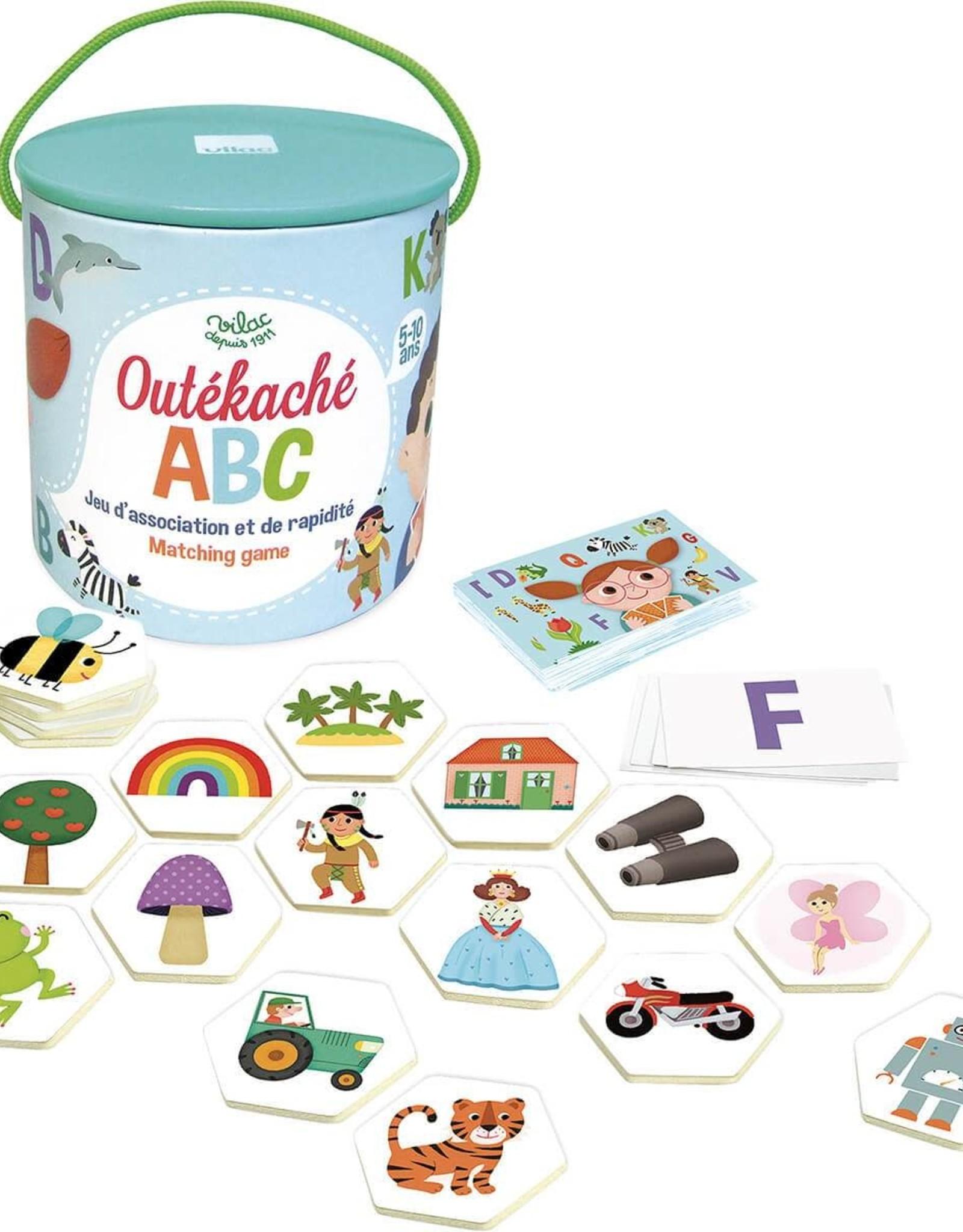 Vilac ABC Outékaché Search And Find Game by Vilac