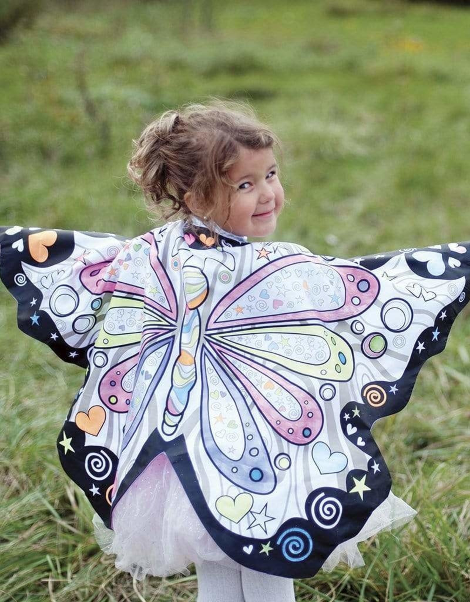 Great Pretenders Colour-A-Cape - Butterfly Wings