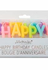 Great Pretenders Happy Birthday Candles - Rainbow