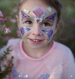 Great Pretenders Butterfly Fairy Face Stickers
