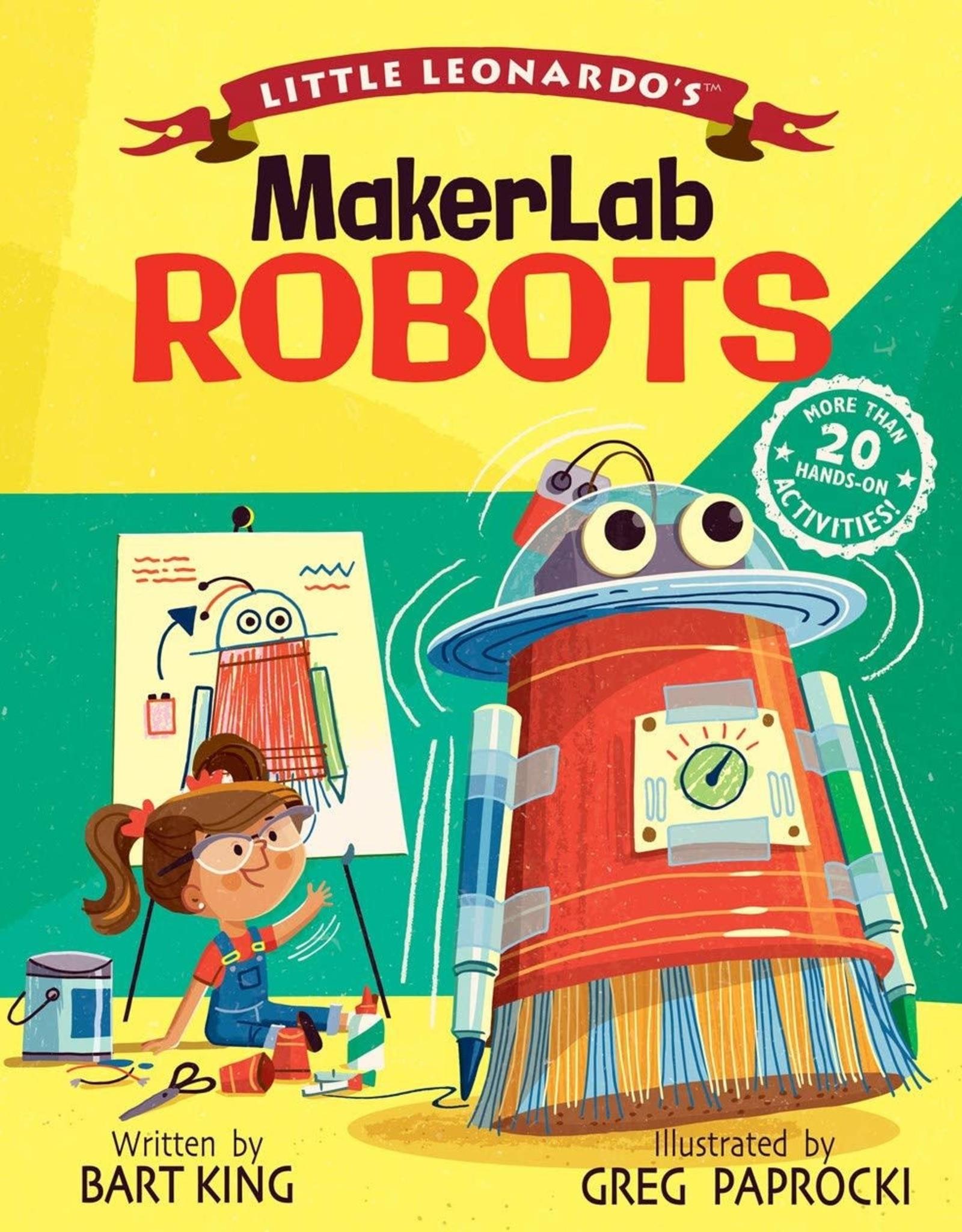Little Leonardo's Makerlab Robots