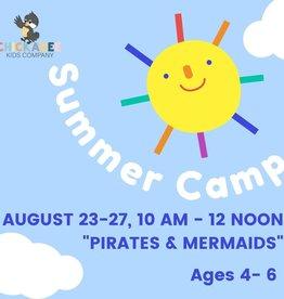 Summer Camp - Aug 23 - 27 - Pirates & Mermaids