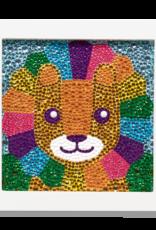 Ooly Razzle Dazzle DIY Gem Art Kit - Lil' Lion
