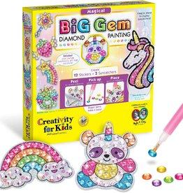 Creativity For Kids Big Gem Diamond Painting Kit - Magical