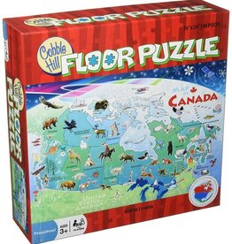 Cobble Hill Puzzles Map of Canada 48 piece Floor Puzzle