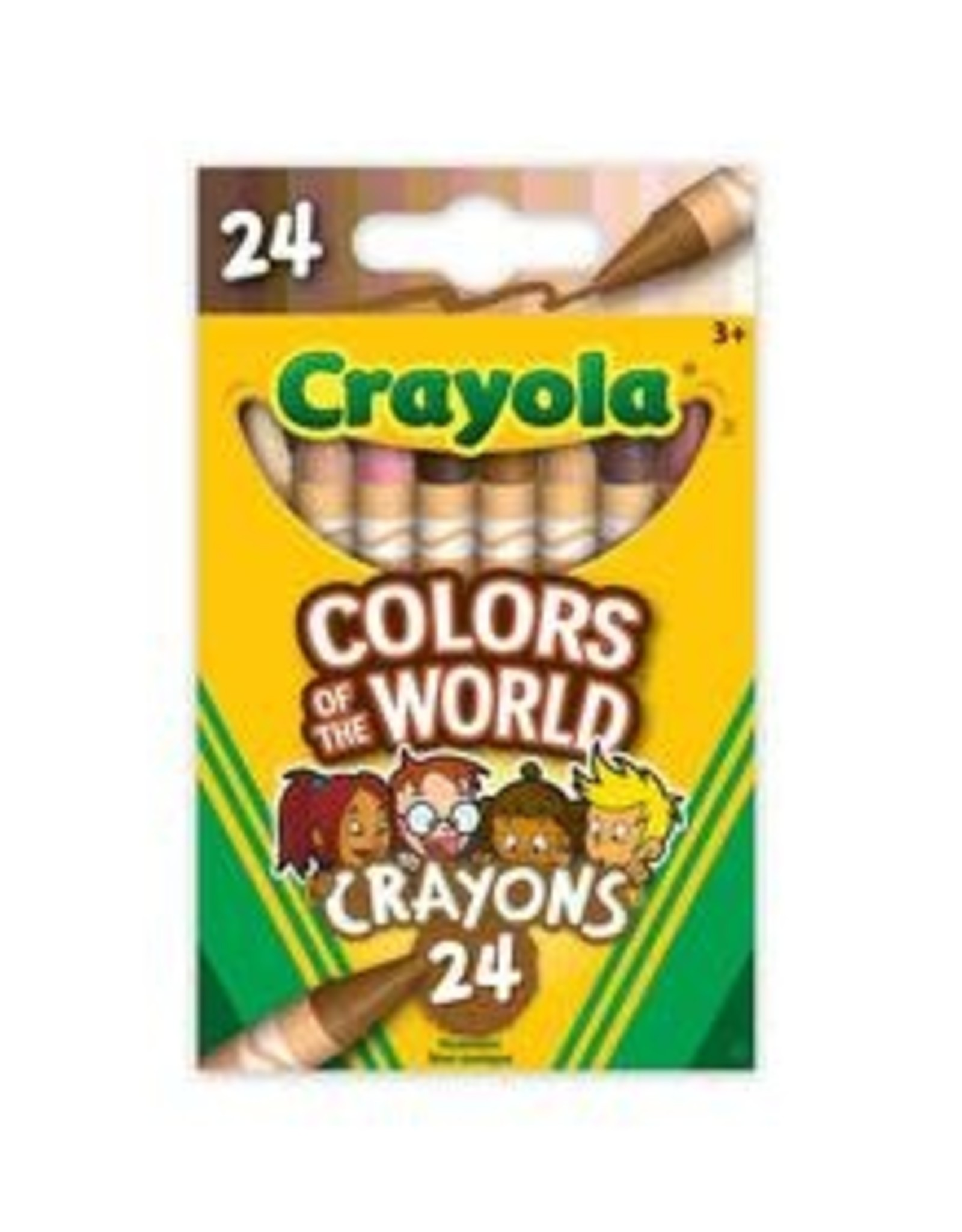 Crayola Colors of the World Crayons, 24