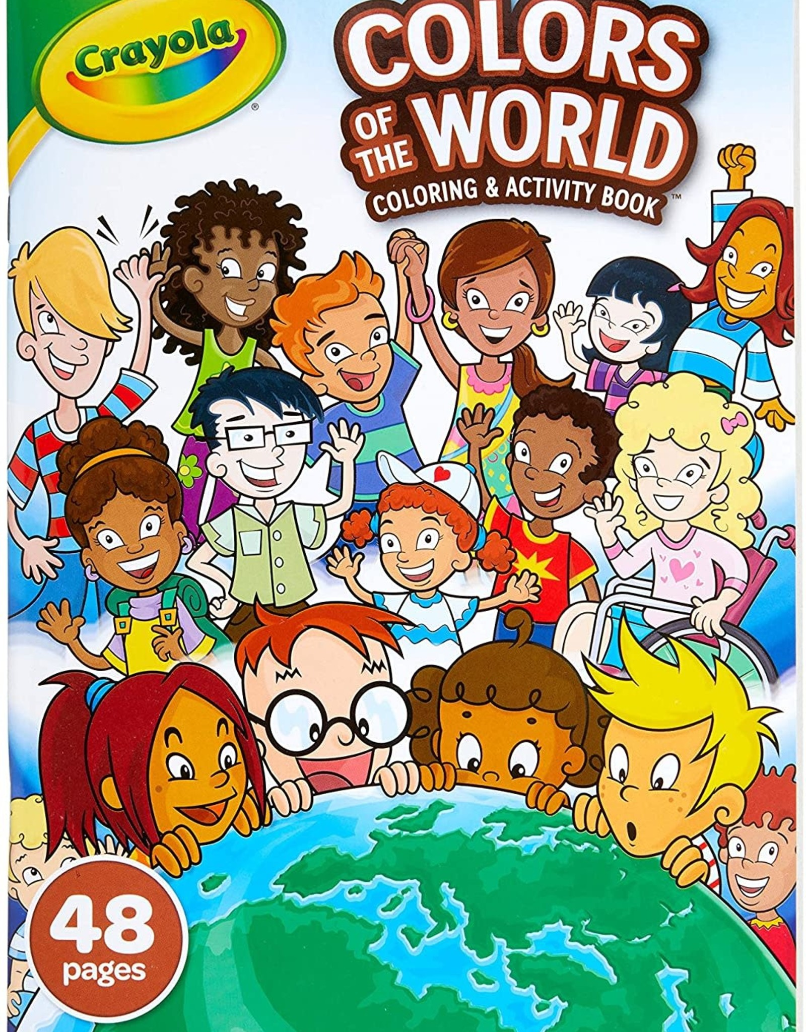 Crayola Colors of the World Colouring & Activity Book