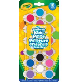 Crayola Washable Paint Pods, 18
