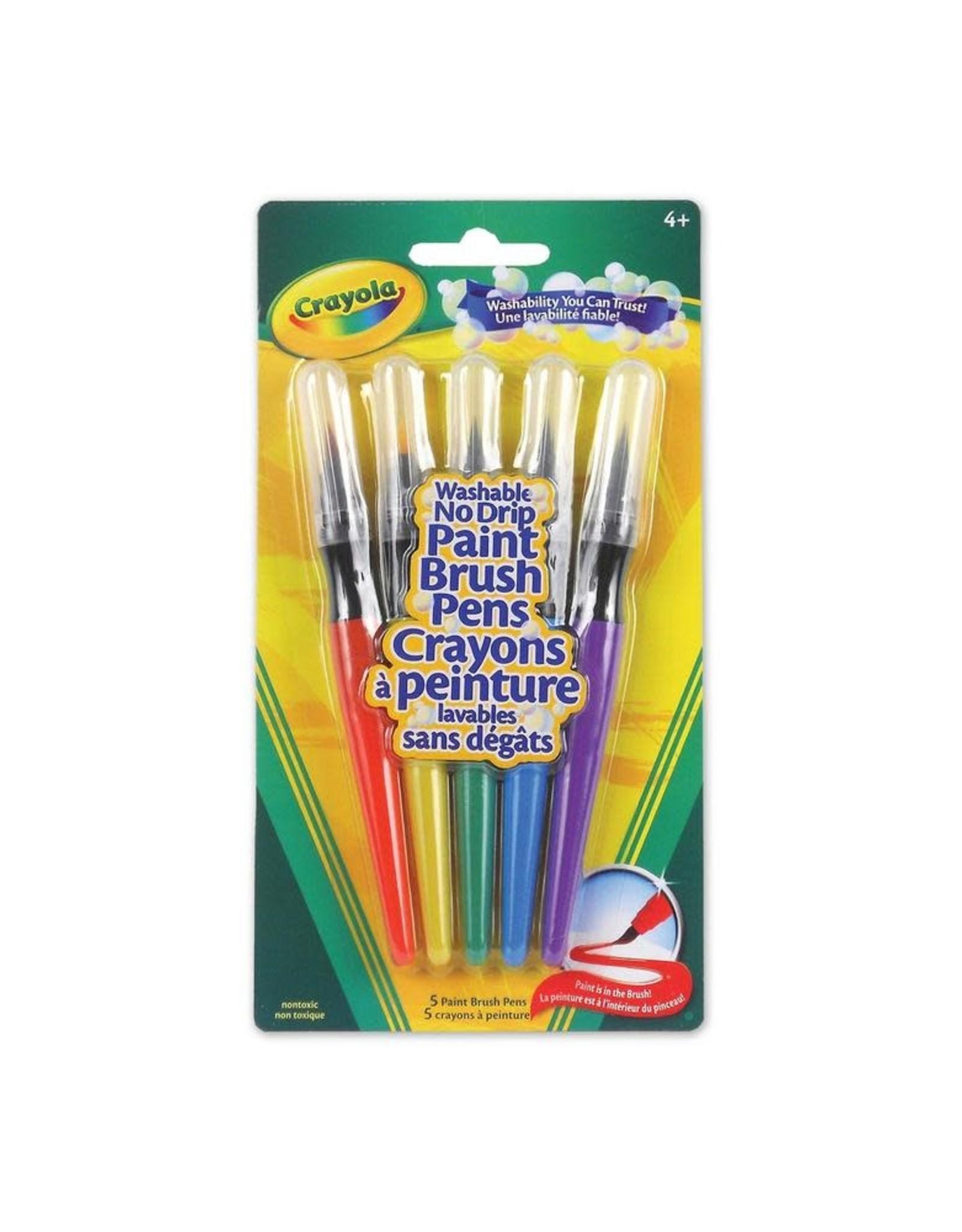 Crayola Paint Brush Pens, 5 ct