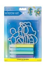 Creativity For Kids Window Art - Ocean Friends