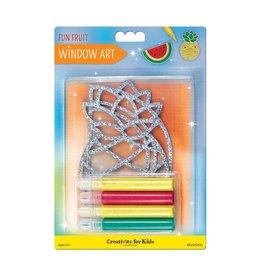 Creativity For Kids Window Art - Fun Fruits