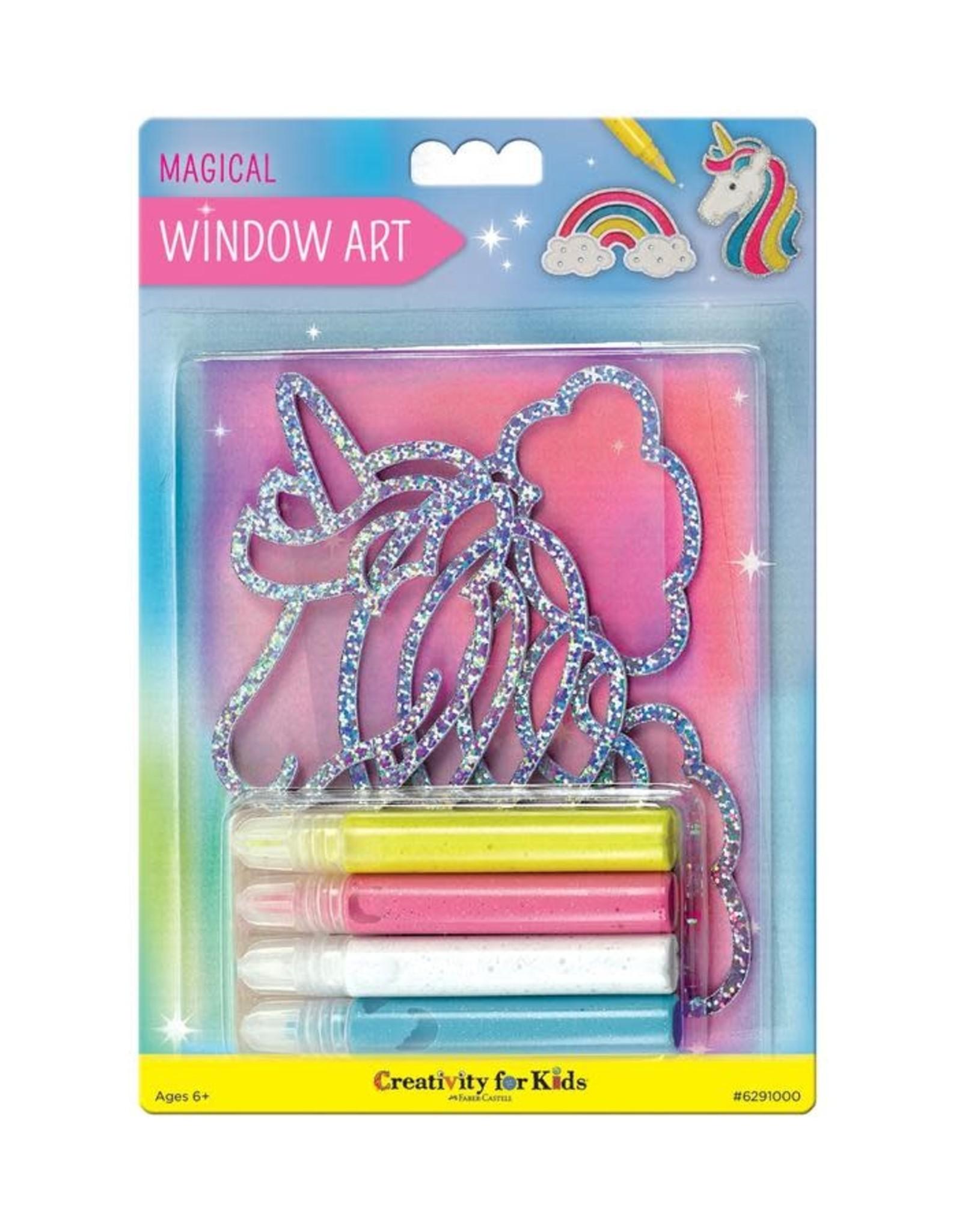 Creativity For Kids Window Art - Magical