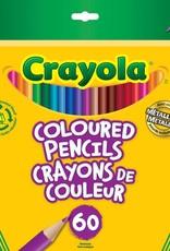 Crayola Coloured Pencils, 60 pc