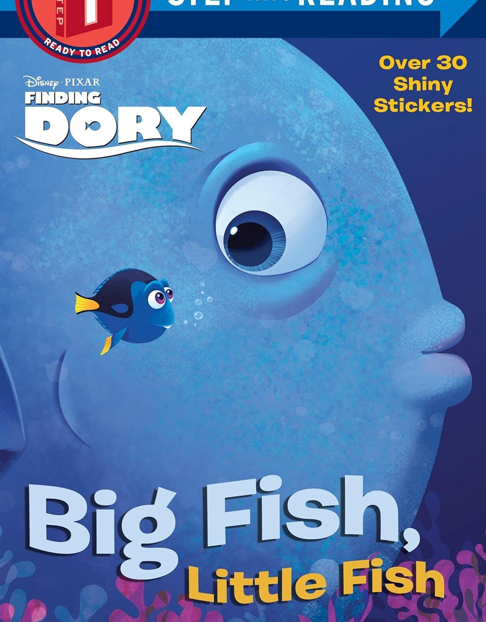 Penguin Random House Step Into Reading 1: Dory Big Fish, Little Fish