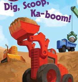 Penguin Random House Step Into Reading 1: Dig, Scoop, Ka-boom!