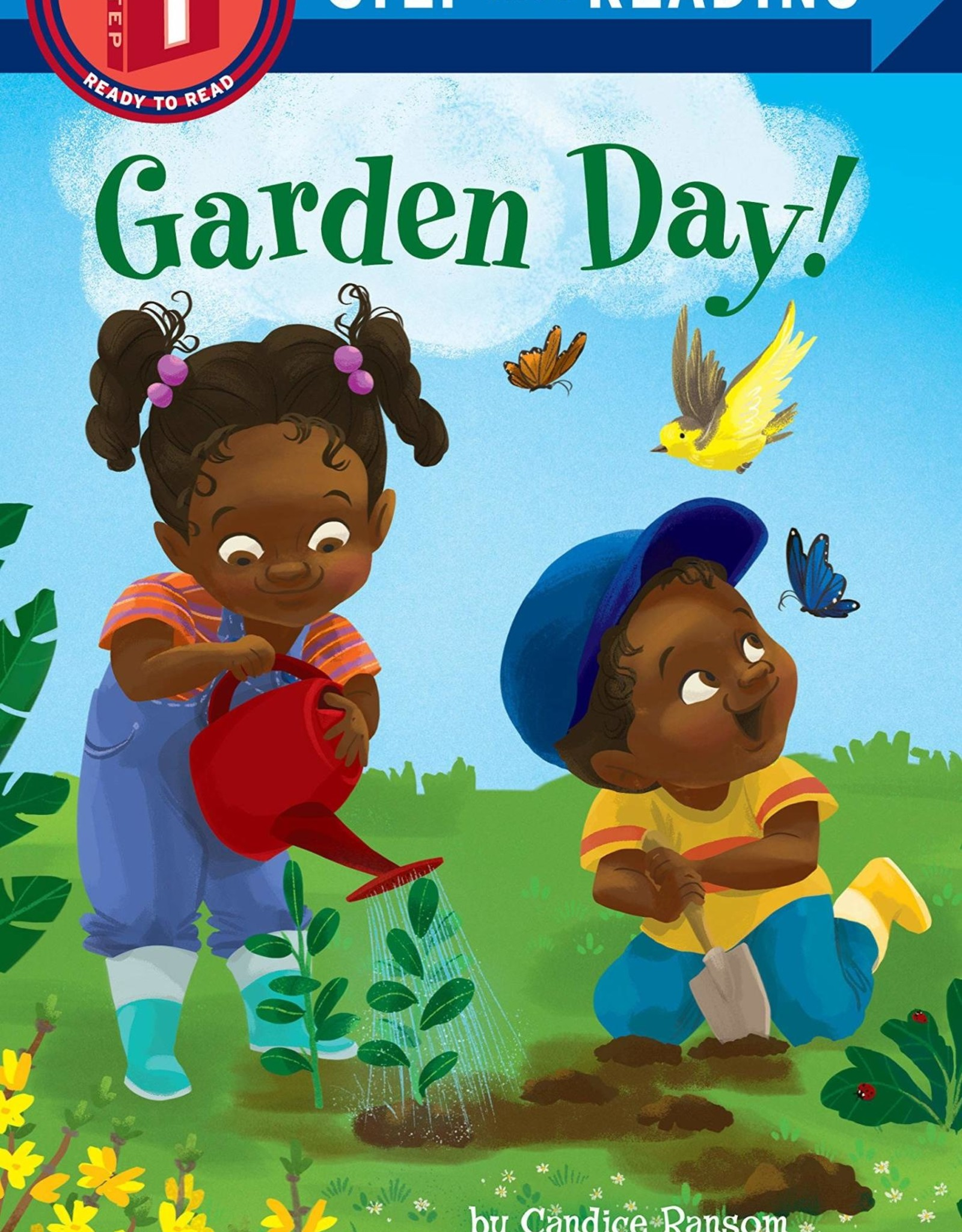 Penguin Random House Step Into Reading 1: Garden Day