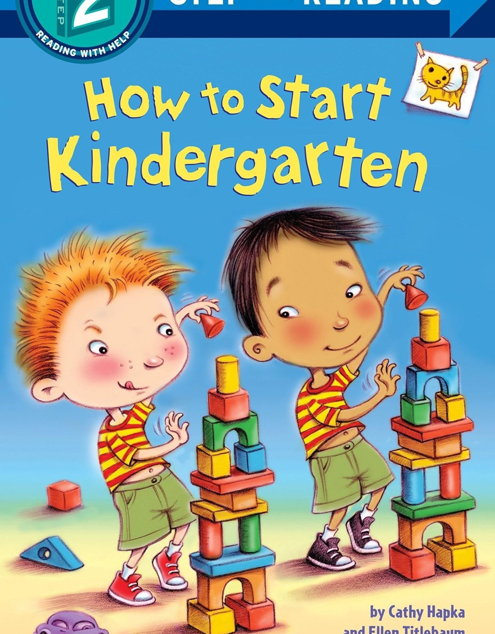 Penguin Random House Step Into Reading 2: How to Start Kindergarten