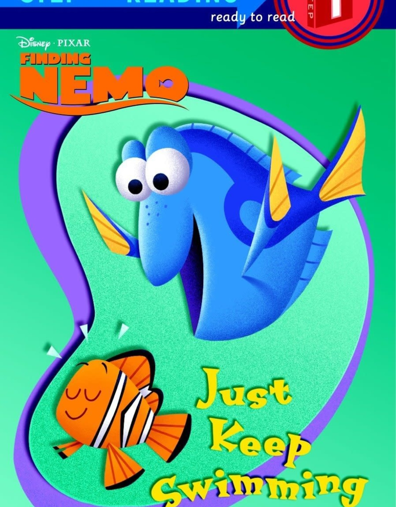 Penguin Random House Step Into Reading: Just Keep Swimming - Dory