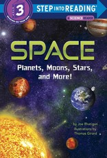 Penguin Random House Step Into Reading 3: Space: Planets, Moons, Stars, and More!