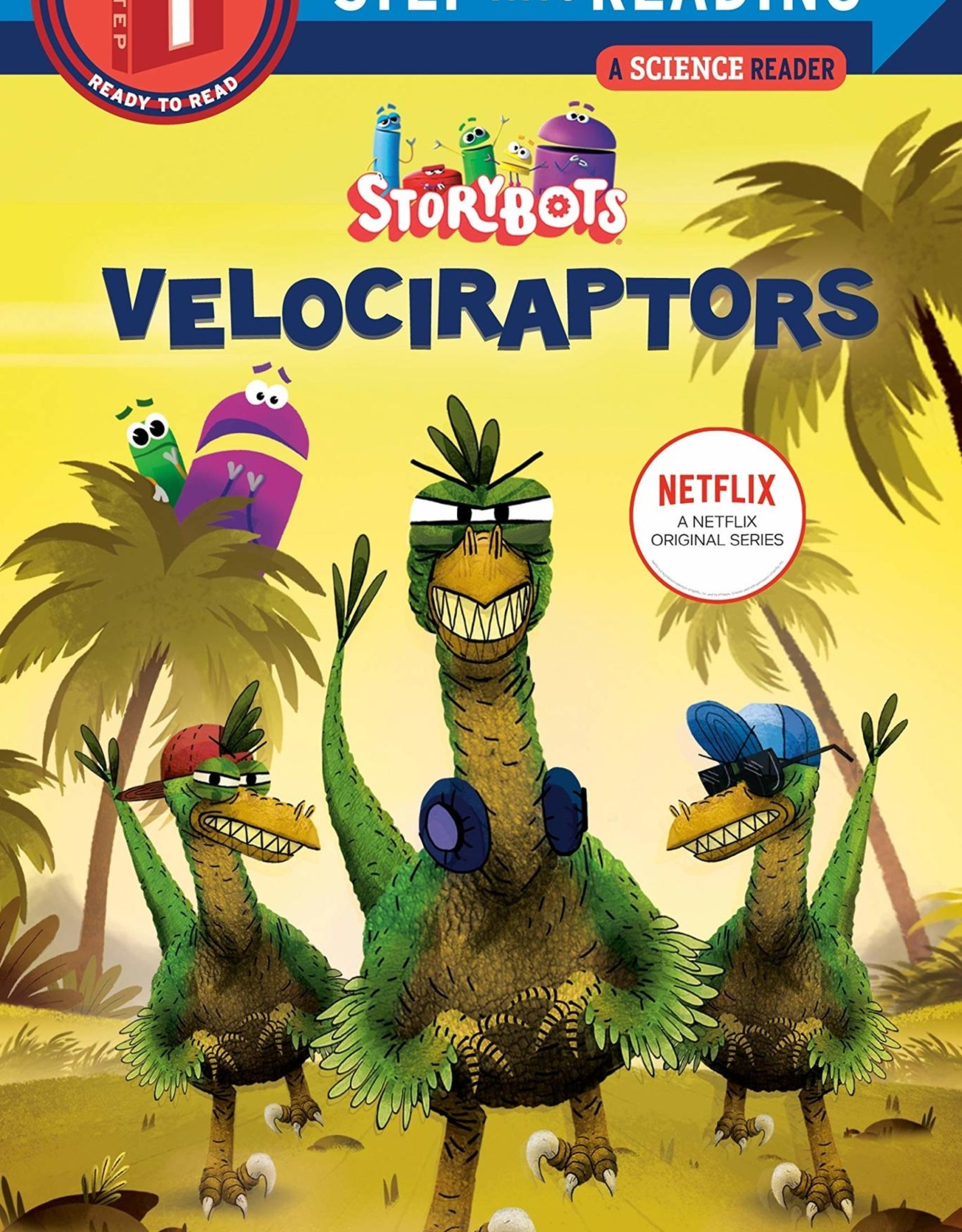 Penguin Random House Step Into Reading 1: Velociraptors (Storybots)