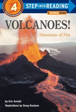 Penguin Random House Step Into Reading 4: Volcanoes! Mountains of Fire