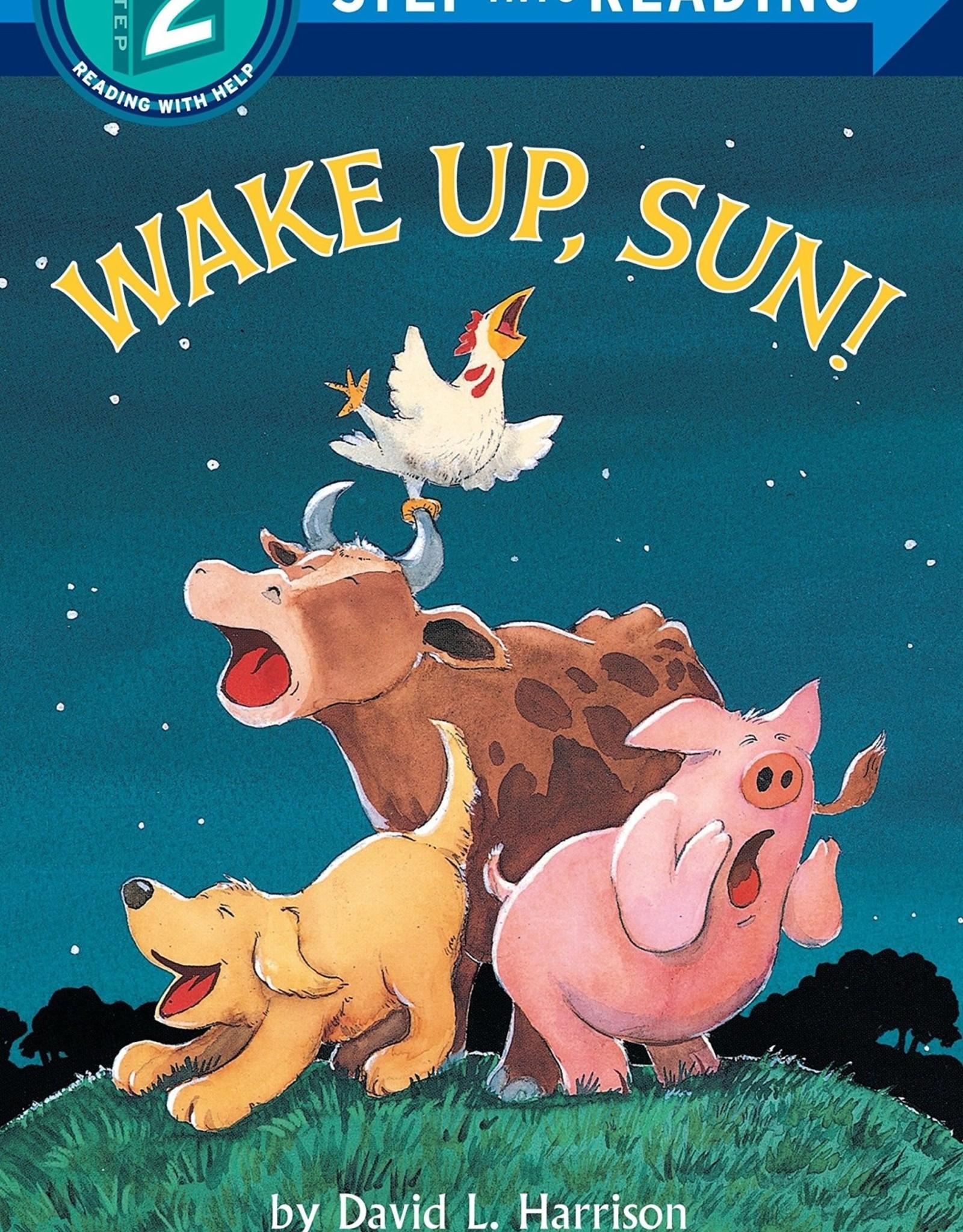 Penguin Random House Step Into Reading 2: Wake Up, Sun!