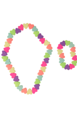 Great Pretenders Sweet Tart Heart Necklace/Bracelet Set