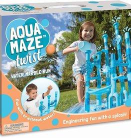 MindWare Aqua Maze Twist Marble Run