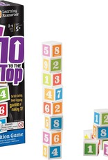 Learning Resources Ten To The Top Addition Game