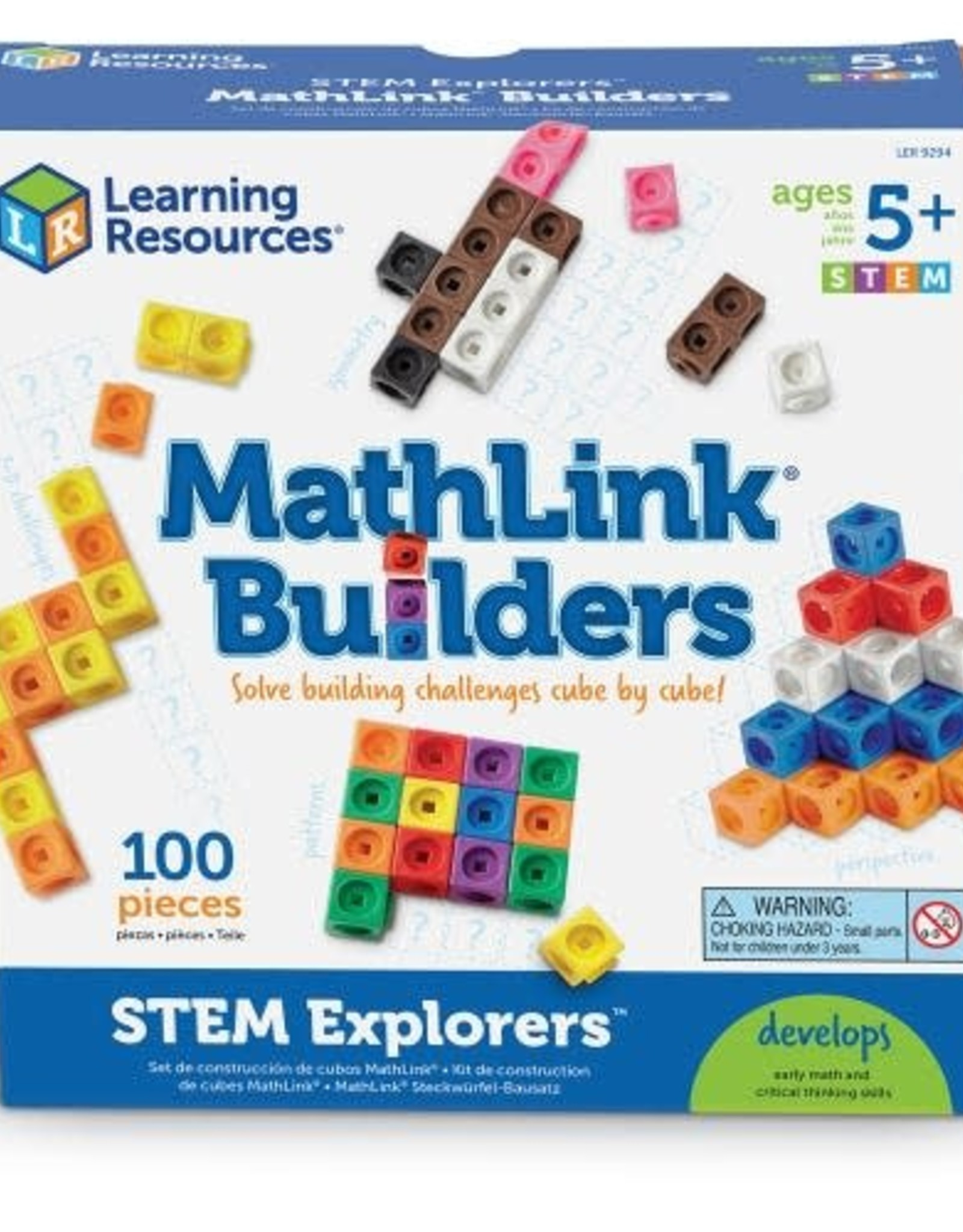 Learning Resources STEM Explorers Mathlink Builders