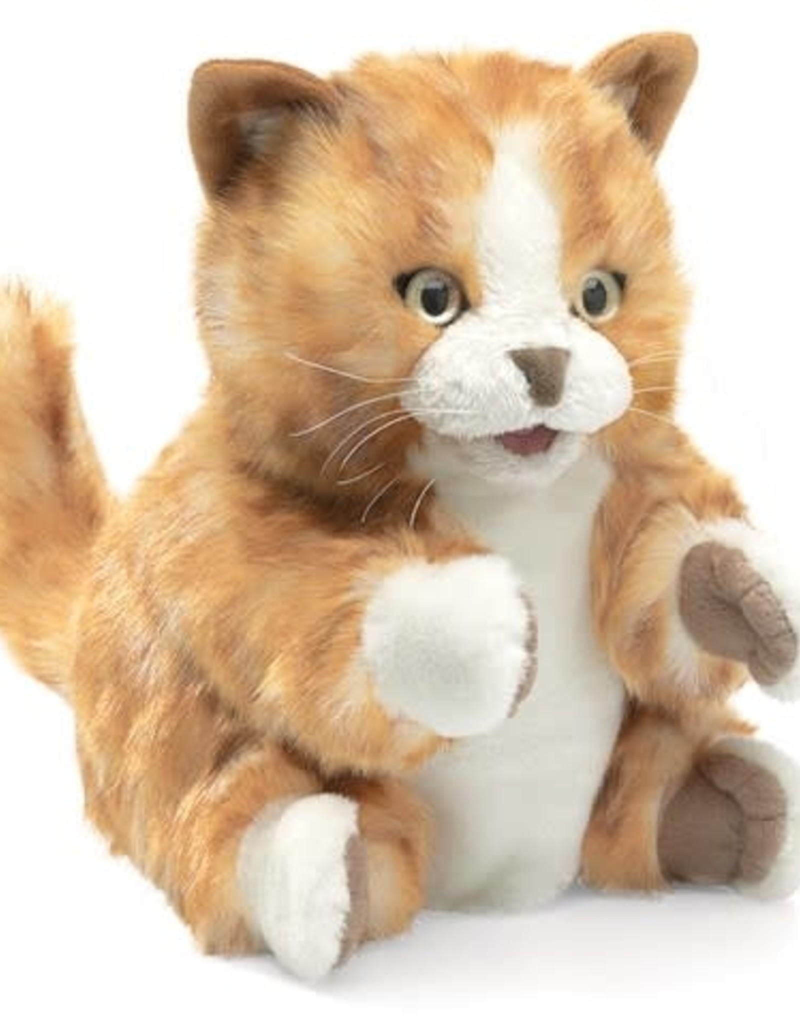 Folkmanis Folkmanis Orange Tabby Puppet