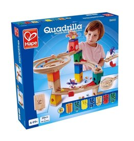 Hape Toys Quadrilla: Race to the Finish Marble Run