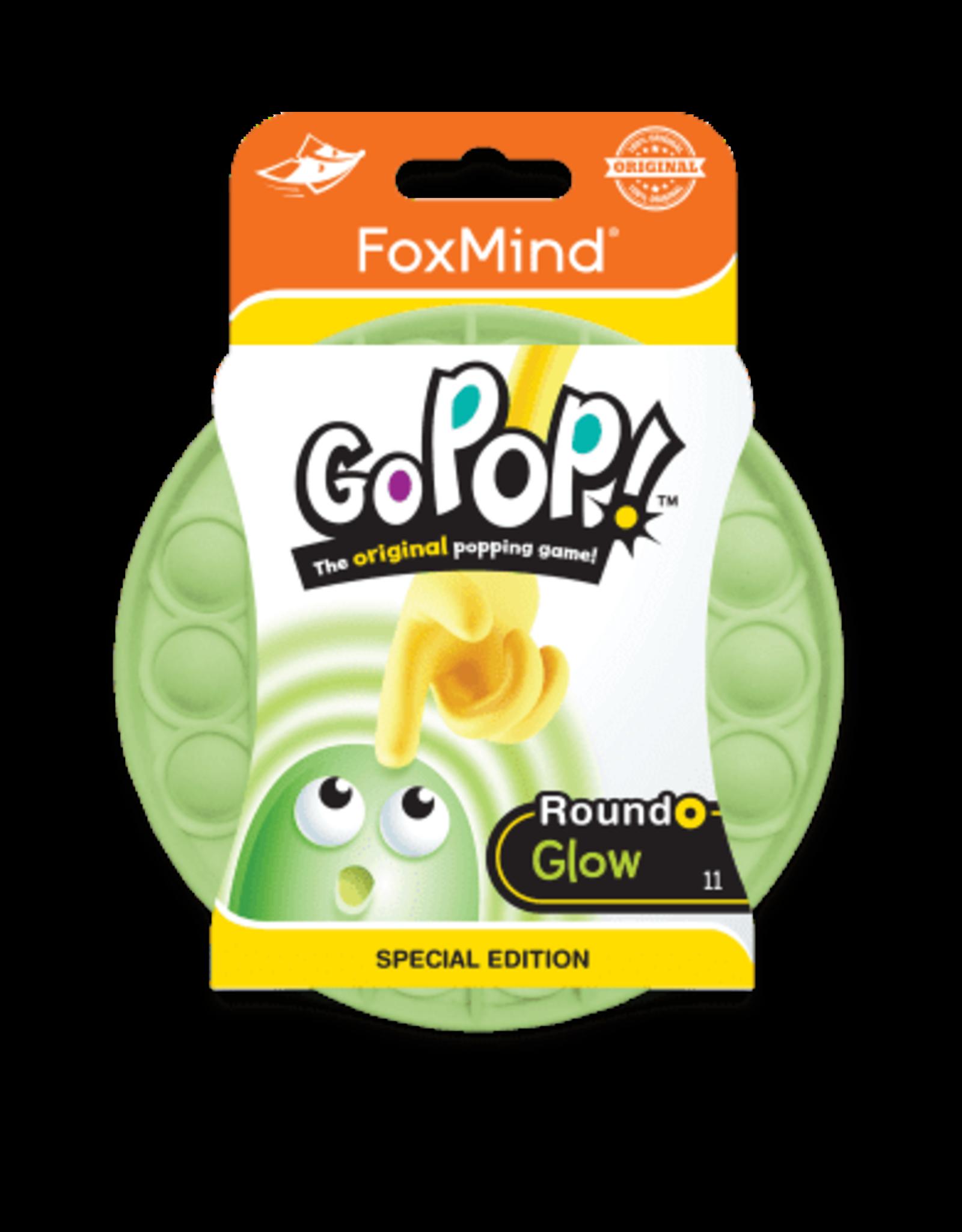 Foxmind Go Pop Roundo - Glow in the Dark