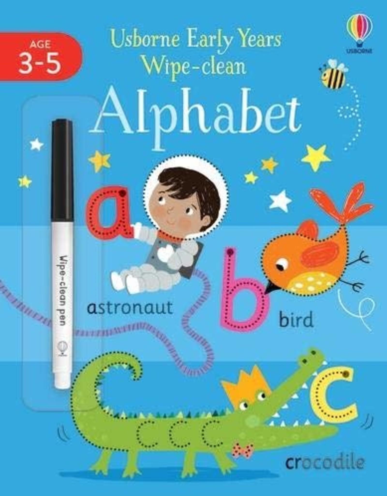 Usborne Wipe Clean Alphabet