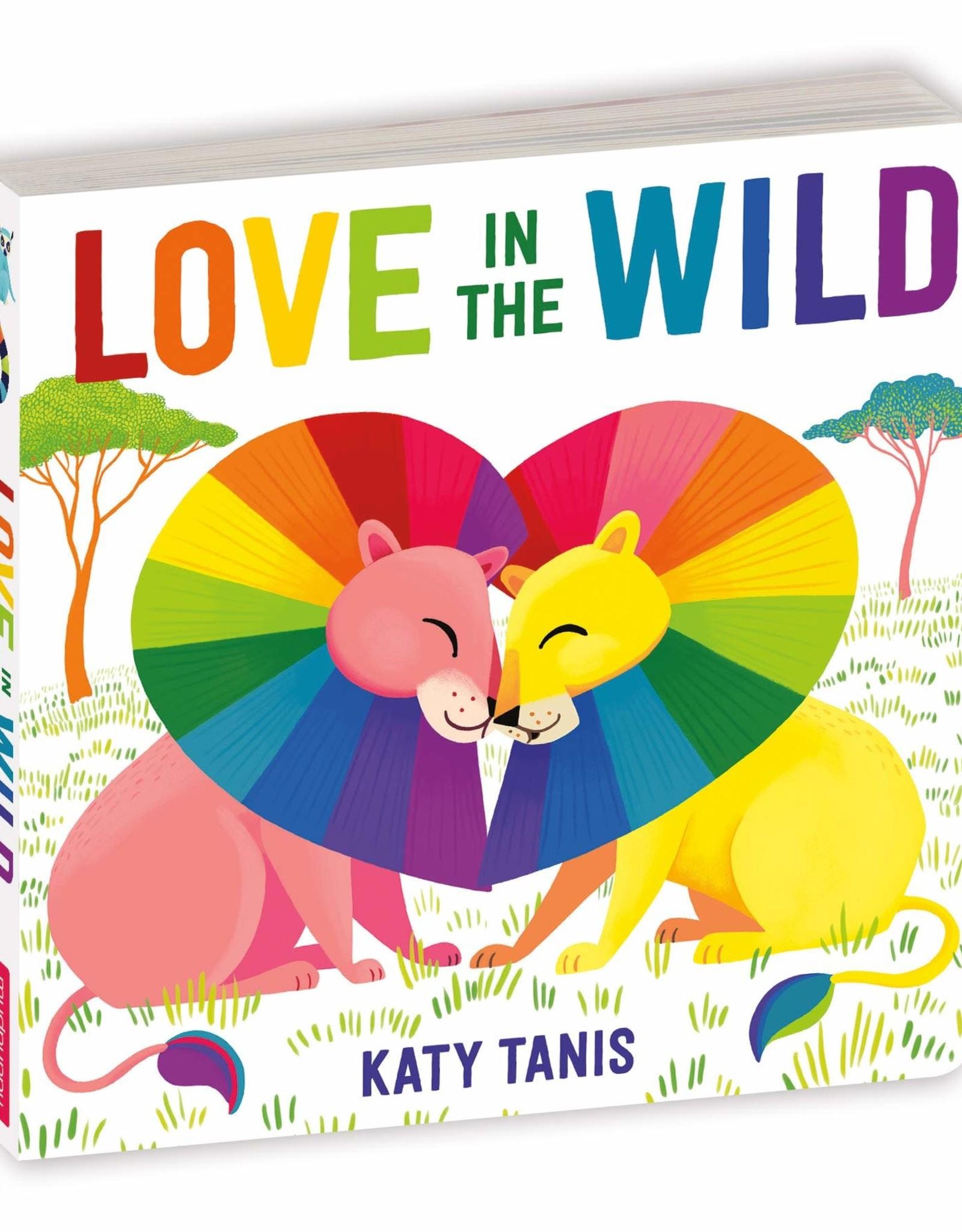 Mudpuppy Love in the Wild (Board Book)