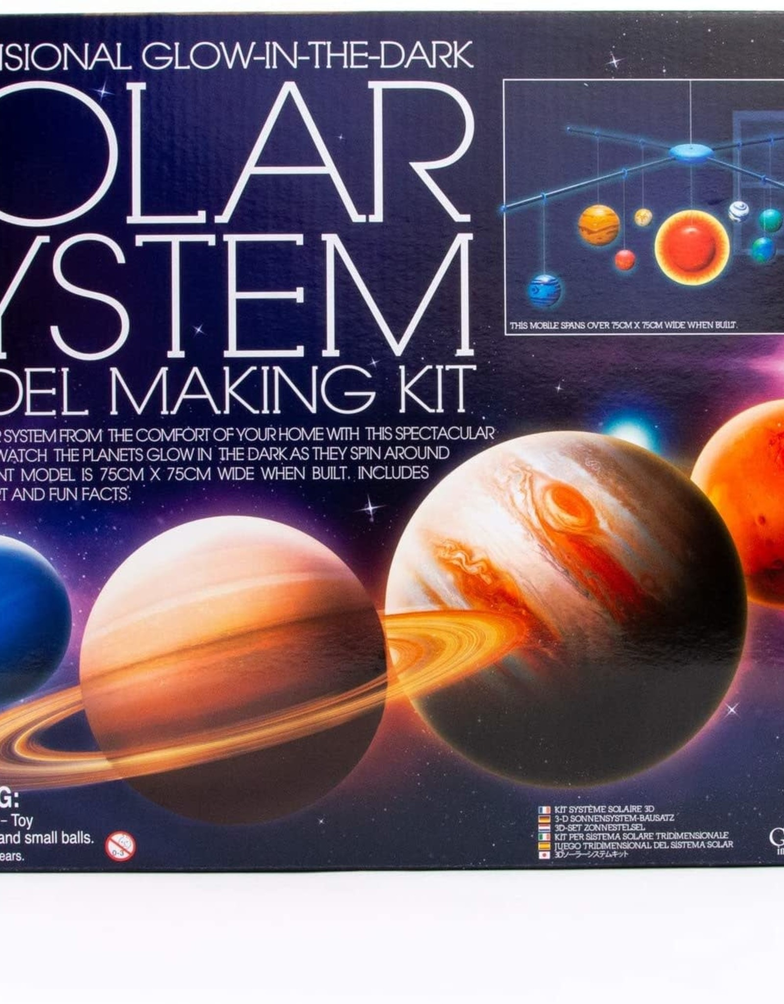 4M 3D Solar System Mobile Making Kit