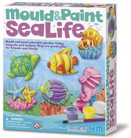 4M Sea Life Mould & Paint